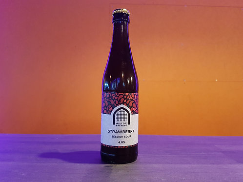 VAULT CITY BREWING - Strawberry Session Sour 4%