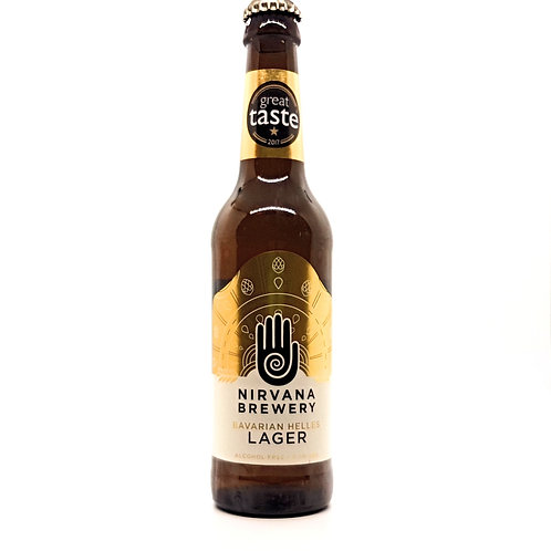 NIRVANA BREWERY - Bavarian Helles Lager - Alcohol Free