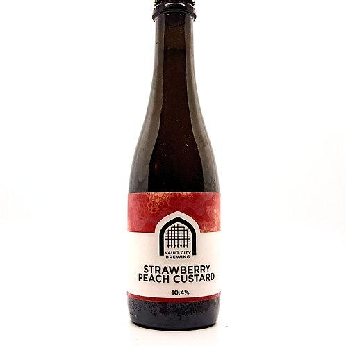 VAULT CITY BREWING  - Strawberry Peach Custard 10.4%