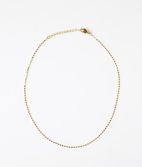Dainty Flat Bar Chain
