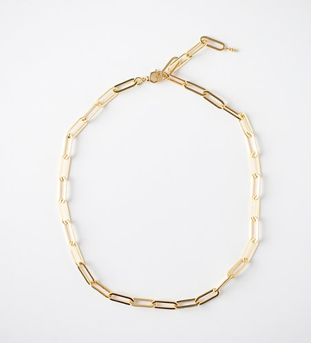 Thick Paperclip Chain Necklace