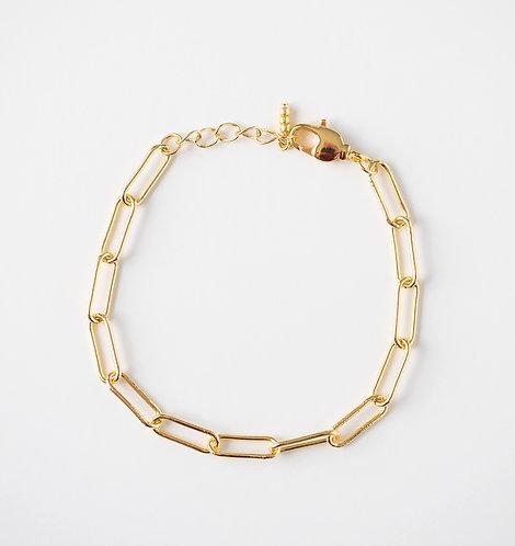 Little Paperclip Chain Bracelet