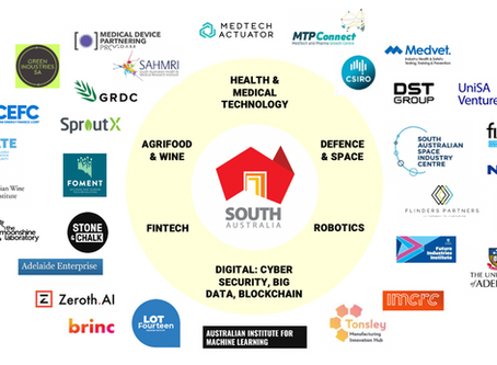 ENGAGING the south Australian startup ecosystem
