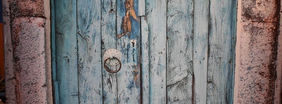 Blue Rustic Doors