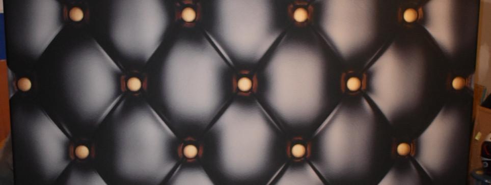 Black Leather Backdrop