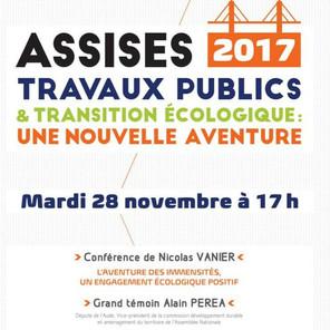 """""""Travaux publics & Transition énergétique"""" - Assises 2017 de la FRTP"""