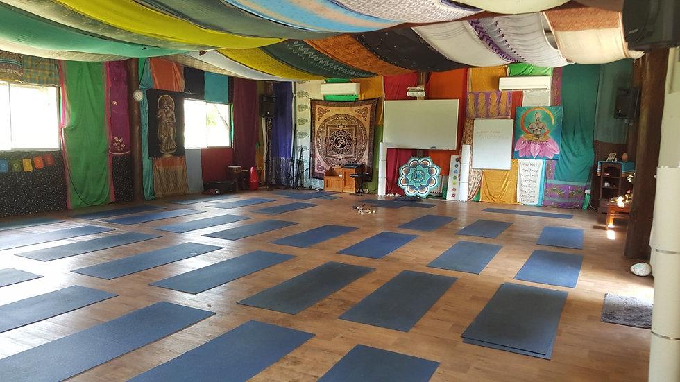 Krishna Village Yoga Hall - Joao da Cost