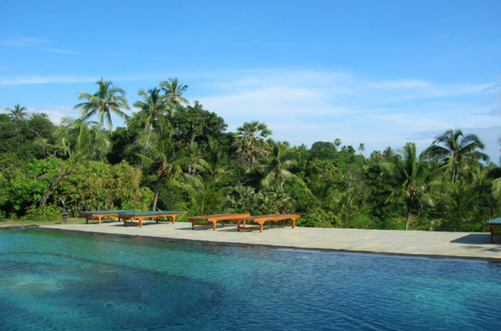 Pool Yoga Retreat