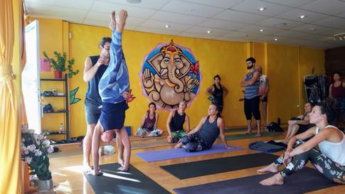 Handstand workshop drill demonstration - Joao da Costa Yoga