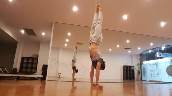 Joao da Costa Yoga Handstand practice