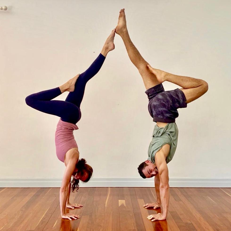 Partner Handstand