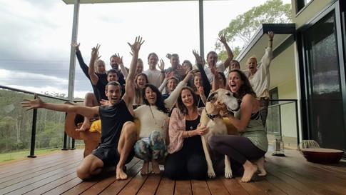 Marja and Anneriek's Retreat Group Photo