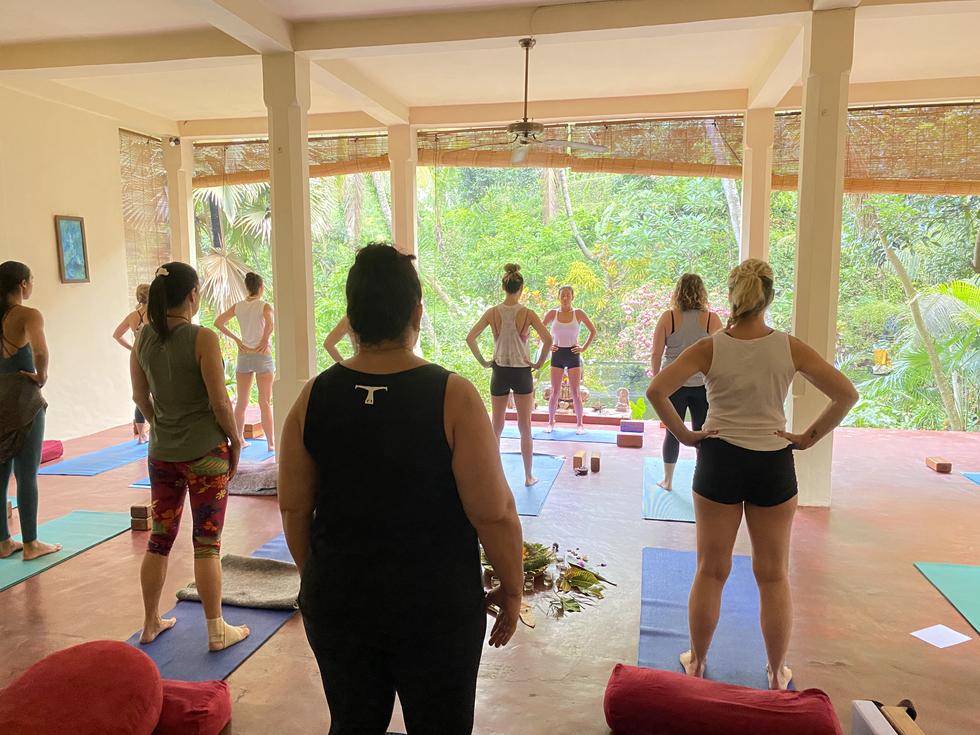 Yoga Class at the Shala