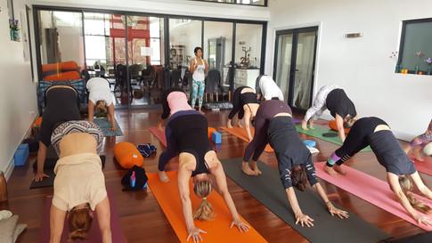 Marja Retreat Yoga Class