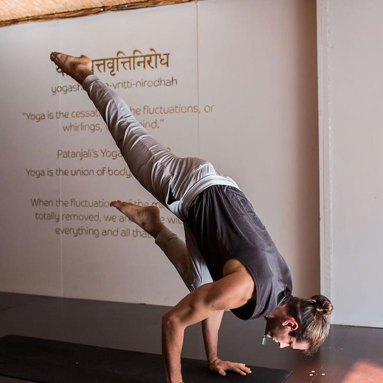 Feet Off the Ground - Botannix Yoga
