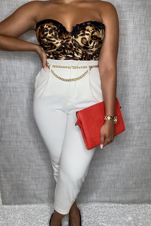Cheetah Girl Corset (L)