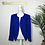 Thumbnail: Blue Sequined Blazer (M)