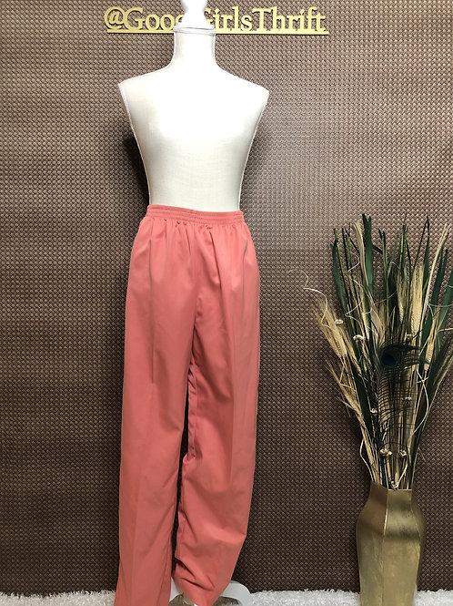 Peach High Waist Pants (Sz 10)