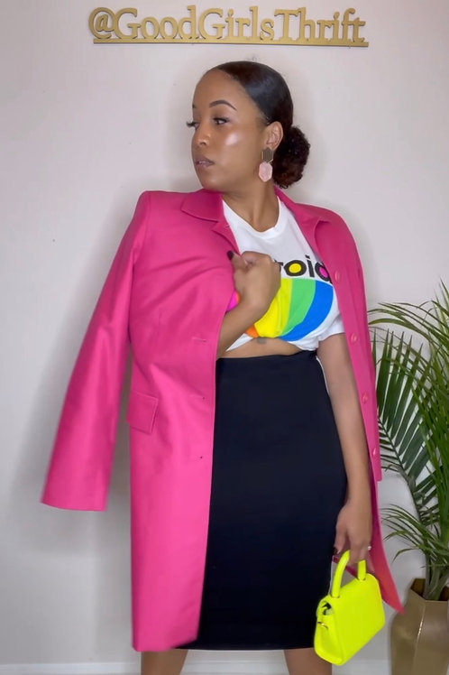 Hot Pink Trench (M)