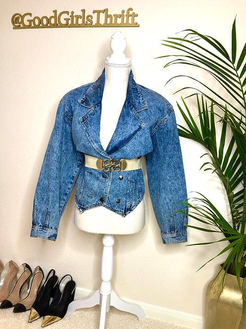 Vintage Denim Jacket (S/M)