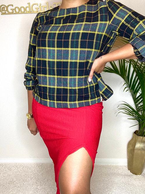 Big Apple Red Skirt (M/L)