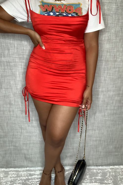 Baddie Red Dress
