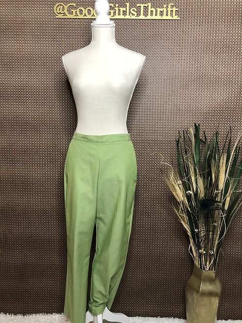 Pastel Green High Waist Pants (8/10)