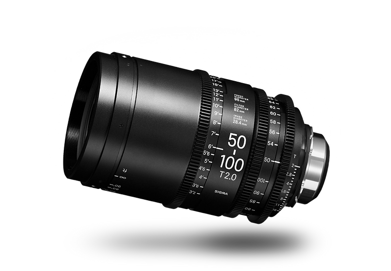 Sigma CINE 50-100mm T2 Canon EF