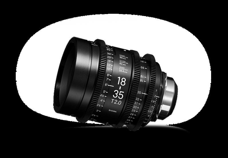 Sigma CINE 18-35mm T2 Canon EF