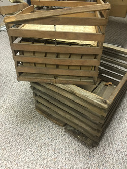antique egg crate