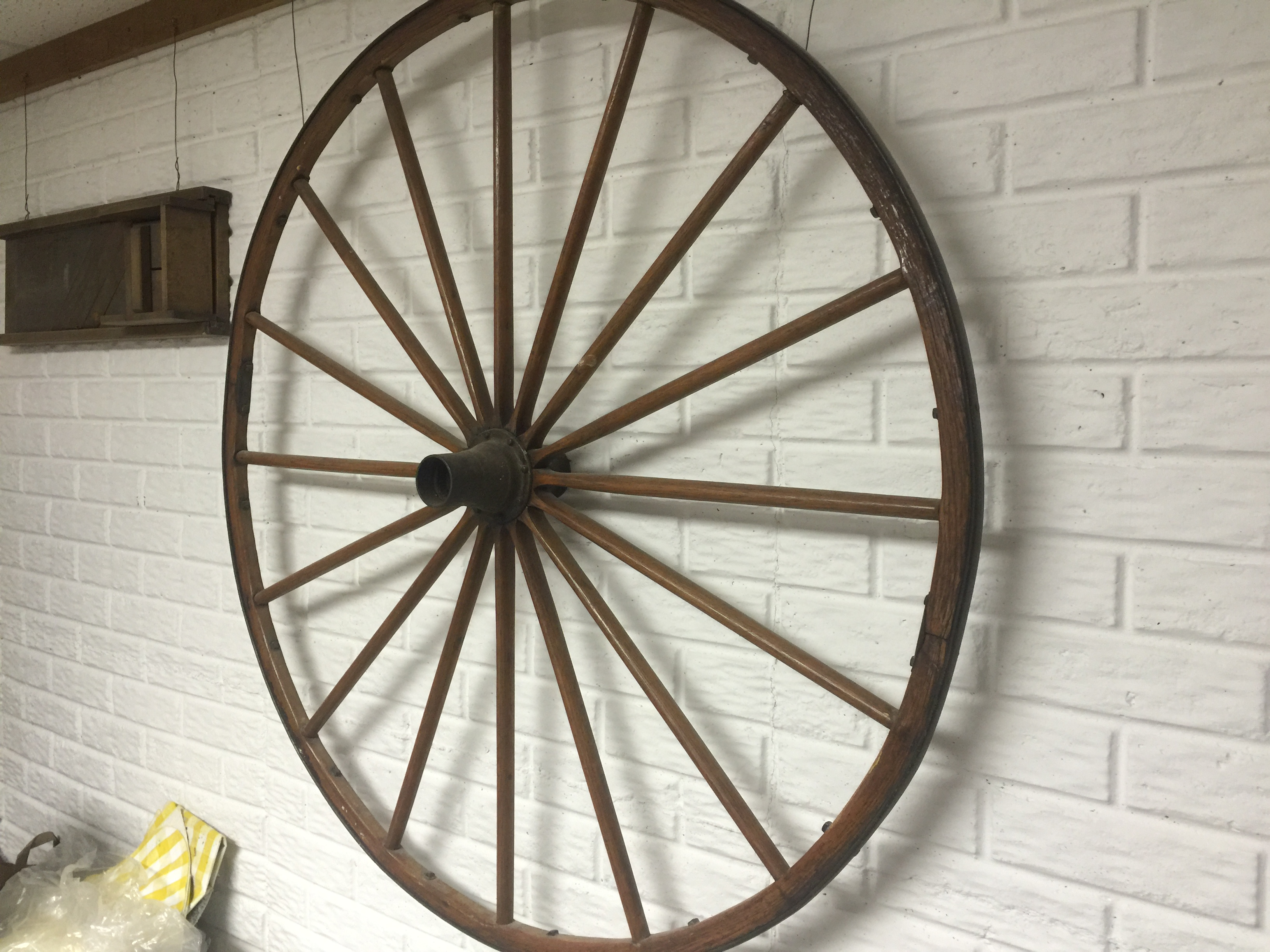 wooden buggy wheel