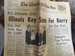 vintage news print