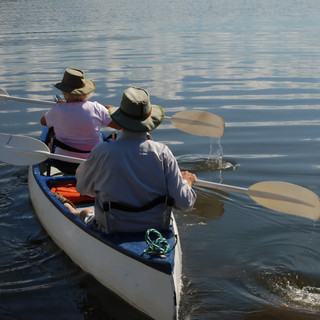 Canoeing, Lake Siljan