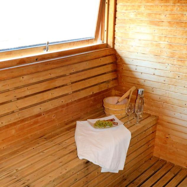 Sauna, Stiftsgården Rättvik