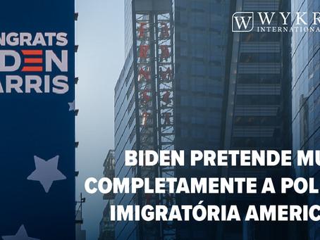 Joe Biden uma nova proposta de política imigratória nos EUA