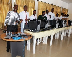 Taking Computers where they have not been before-a new venture in Burundi