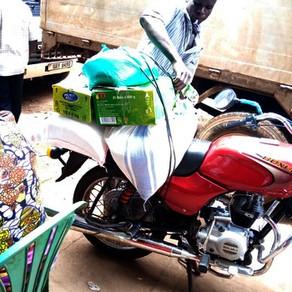 Food for Ugandan families during the Coronavirus Lockdown