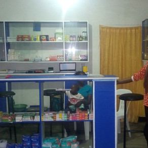 Celebrate with us as Katende opens his Drug Shop