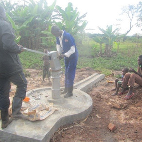 Construction of Piimoulonyi Shallow Well