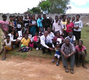 Zambian Youth Group Receive Computers