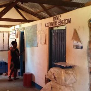 Gaye and the Kitgum Health Centres