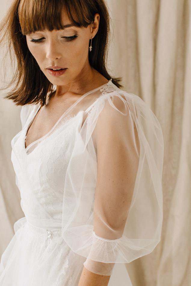 Aurelia z tiulową bluzką i spódnicą