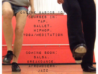Online Dance Courses sent to your inbox!