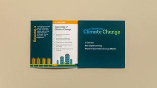 e-learning Climate Change Brochure