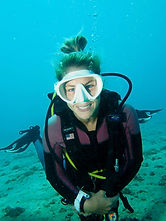 Michelle scuba dive instructor