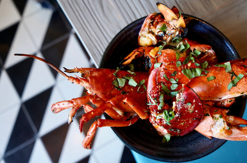 Whole Grilled Lobster