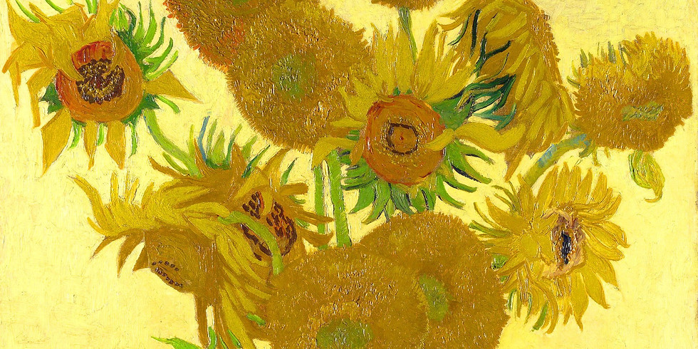Ван Гог - жажда жизни, арт-урок, дети 6+