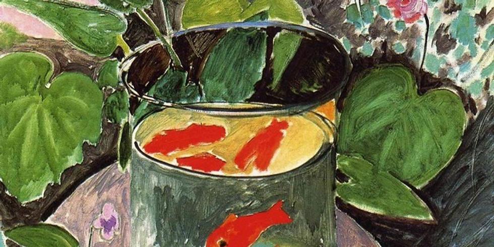 Анри Матисс. Красные рыбки.