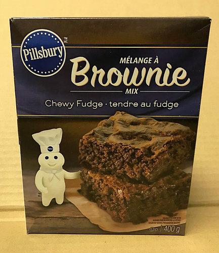 Pillbury Brownie Mix - Chewy Fudge