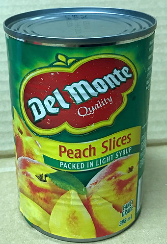 Del Monte Peach Slices - Lite - 398mL